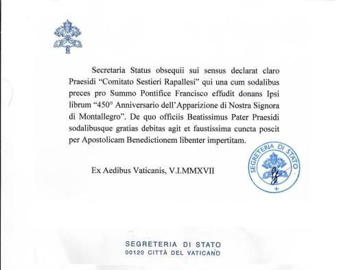 Segreteria Stato Vaticano